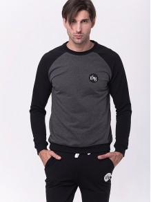 Cotton Sweatshirt - Dark...