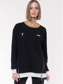 Sweatshirt/Tunic - Black