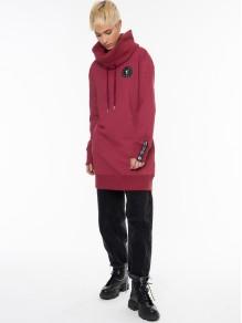 Winter Sweatshirt/Dress - Red