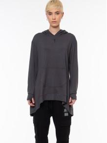 Hoodie Dress/Sweatshirt - Grey