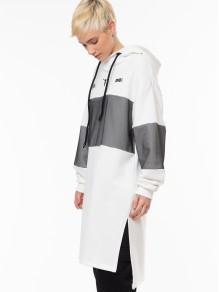 Long Sweatshirt - White