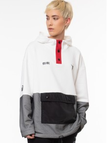 Jacket Sweatshirt - White