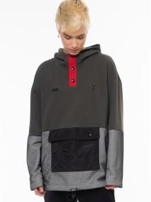 Jacket Sweatshirt - Olive