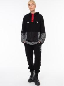Jacket Sweatshirt - Black
